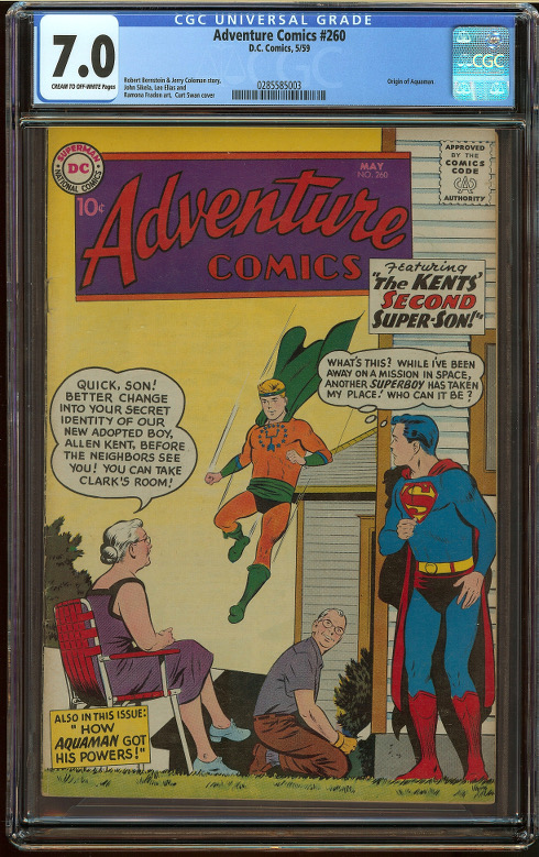 Adventure Comics #260 CGC 7.0 - Click Image to Close