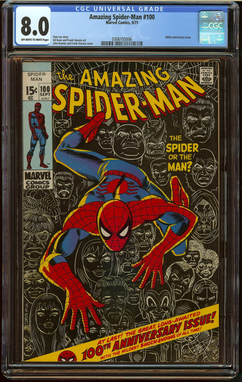 Amazing Spider-Man #100 CGC 8.0