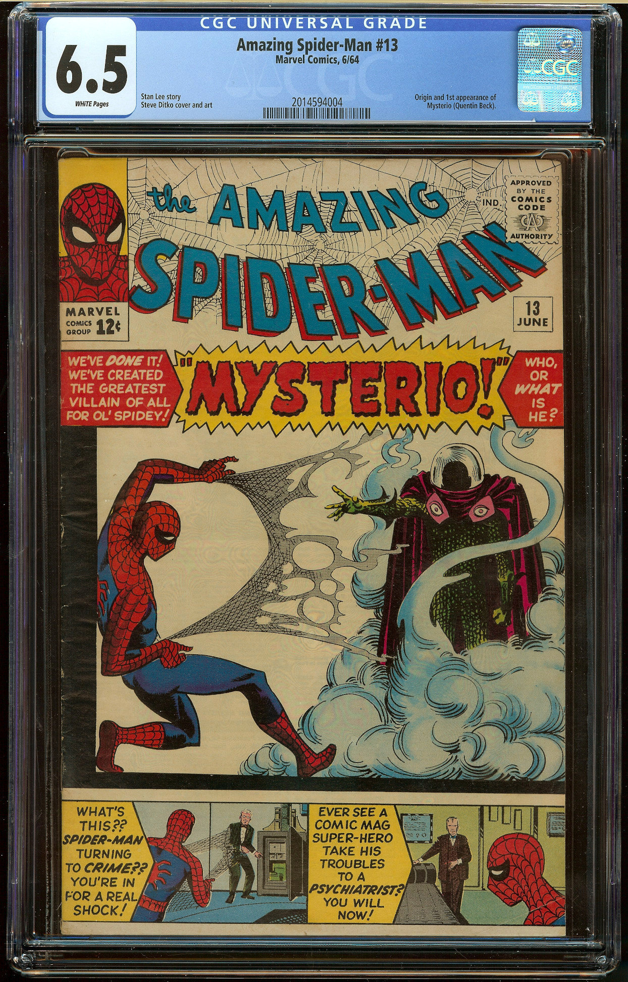 Amazing Spider-Man #13 CGC 6.5