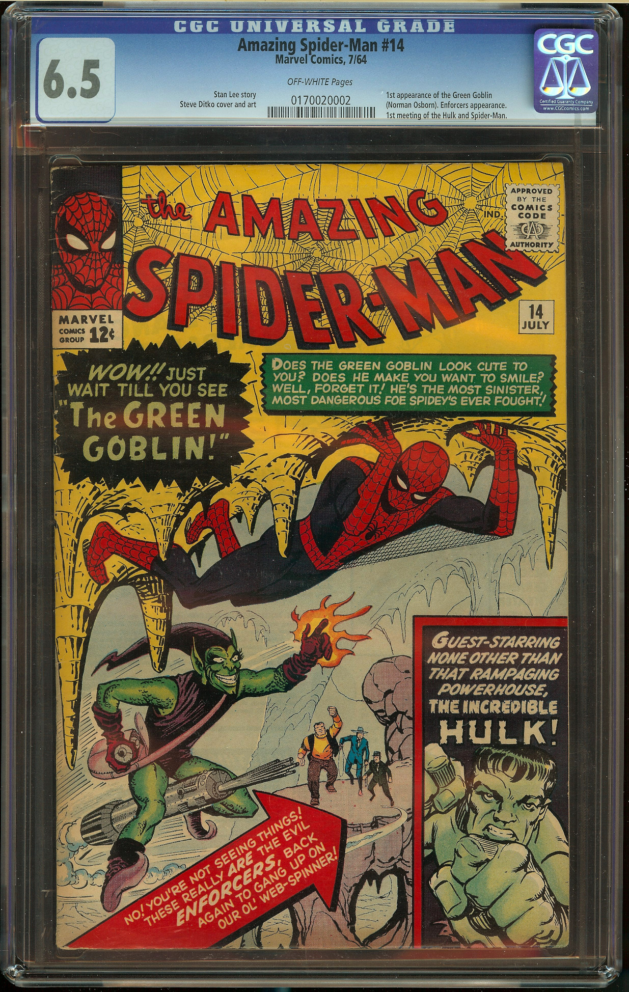 Amazing Spider-Man #14 CGC 6.5
