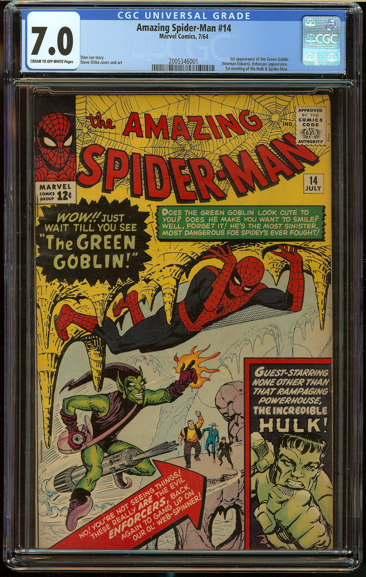 Amazing Spider-Man #14 CGC 7.0