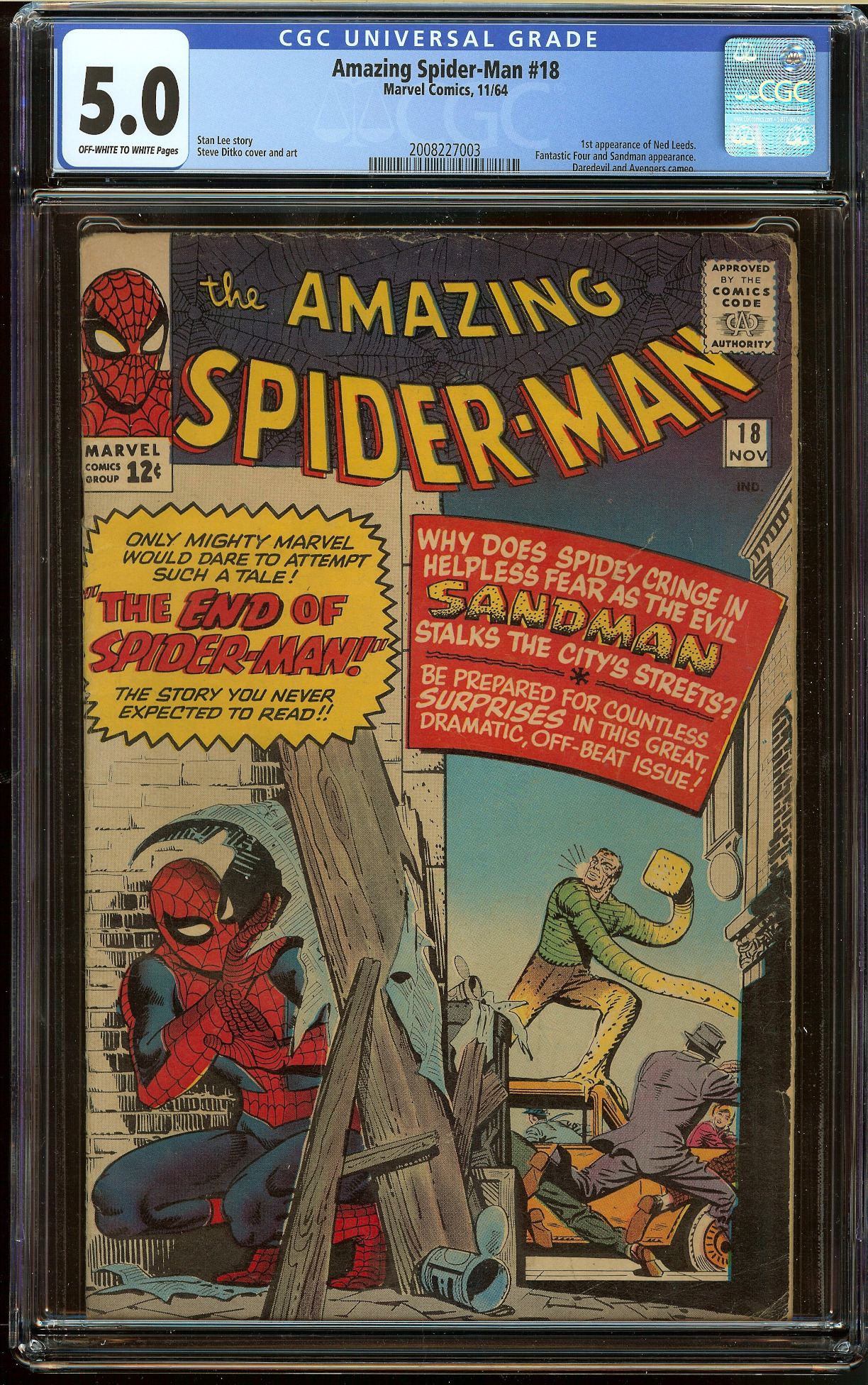 Amazing Spider-Man #18 CGC 5.0