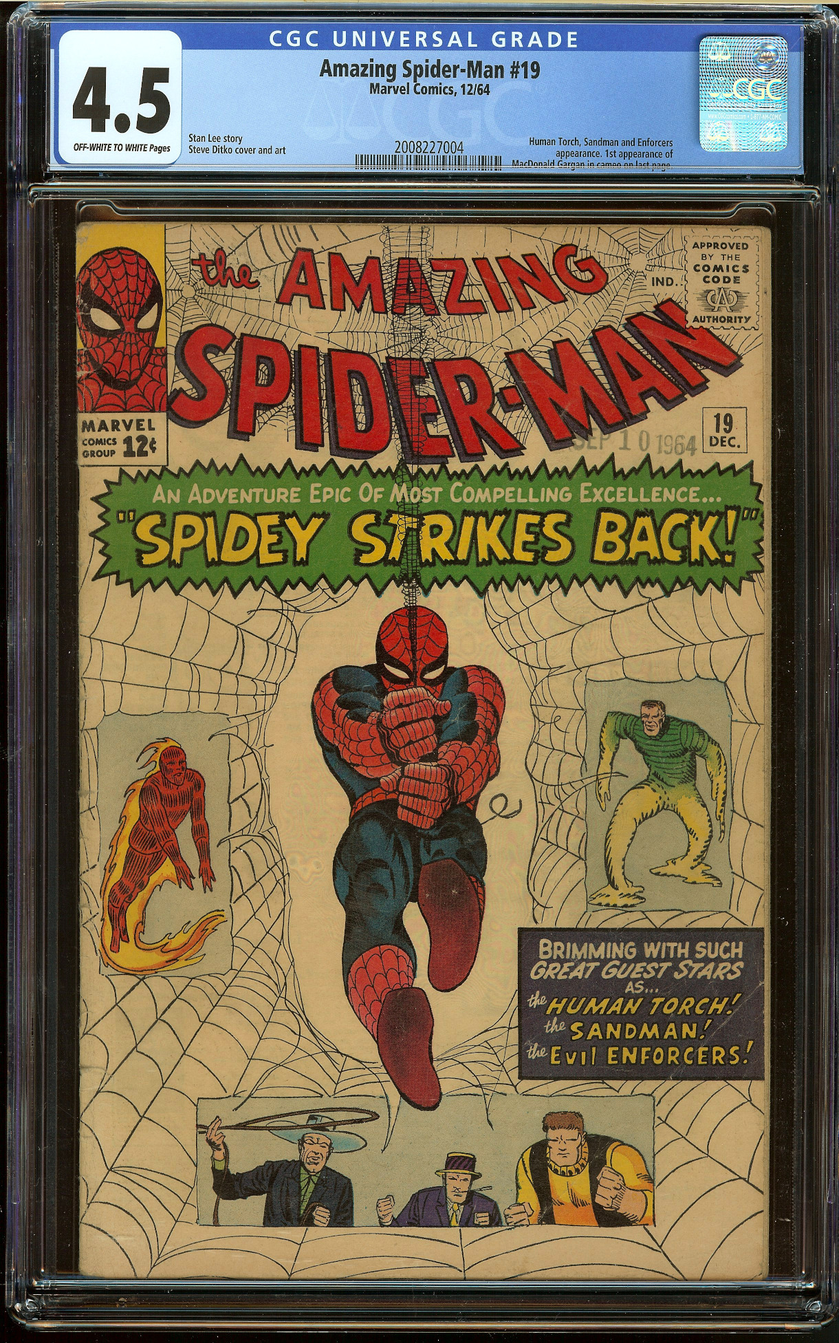 Amazing Spider-Man #19 CGC 4.5