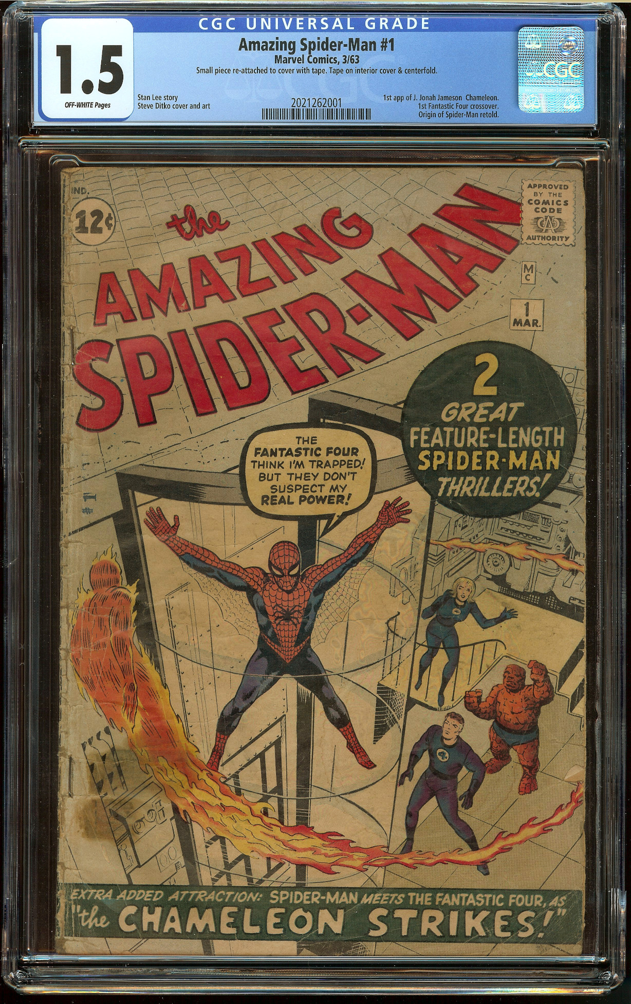 Amazing Spider-Man #1 CGC 1.5