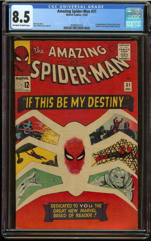 Amazing Spider-Man #31 CGC 8.5