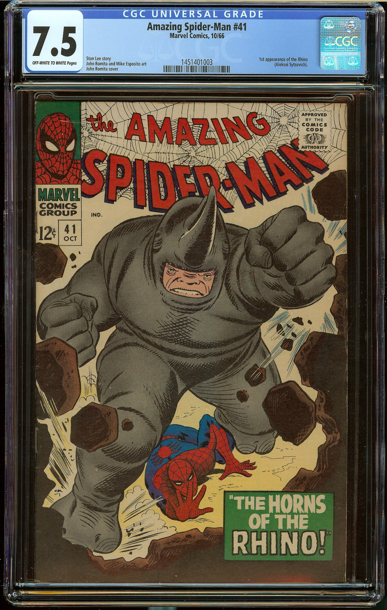 Amazing Spider-Man #41 CGC 7.5