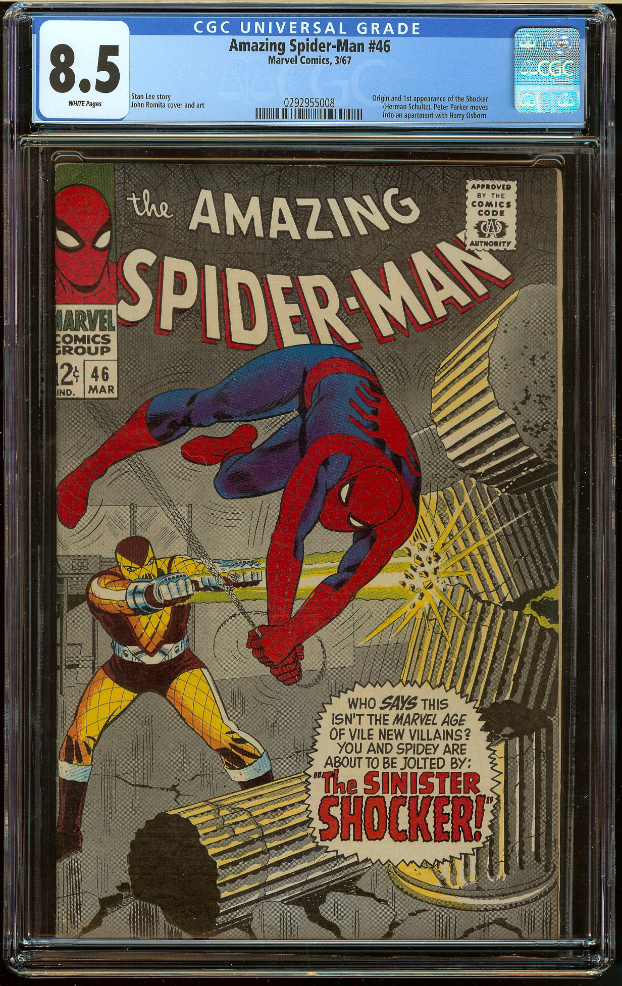 Amazing Spider-Man #46 CGC 8.5