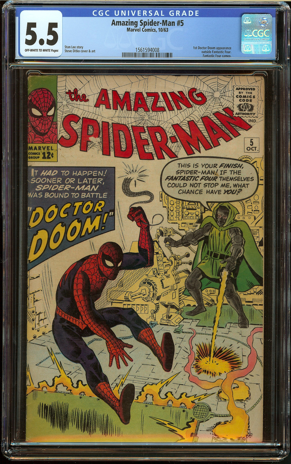 Amazing Spider-Man #5 CGC 5.5