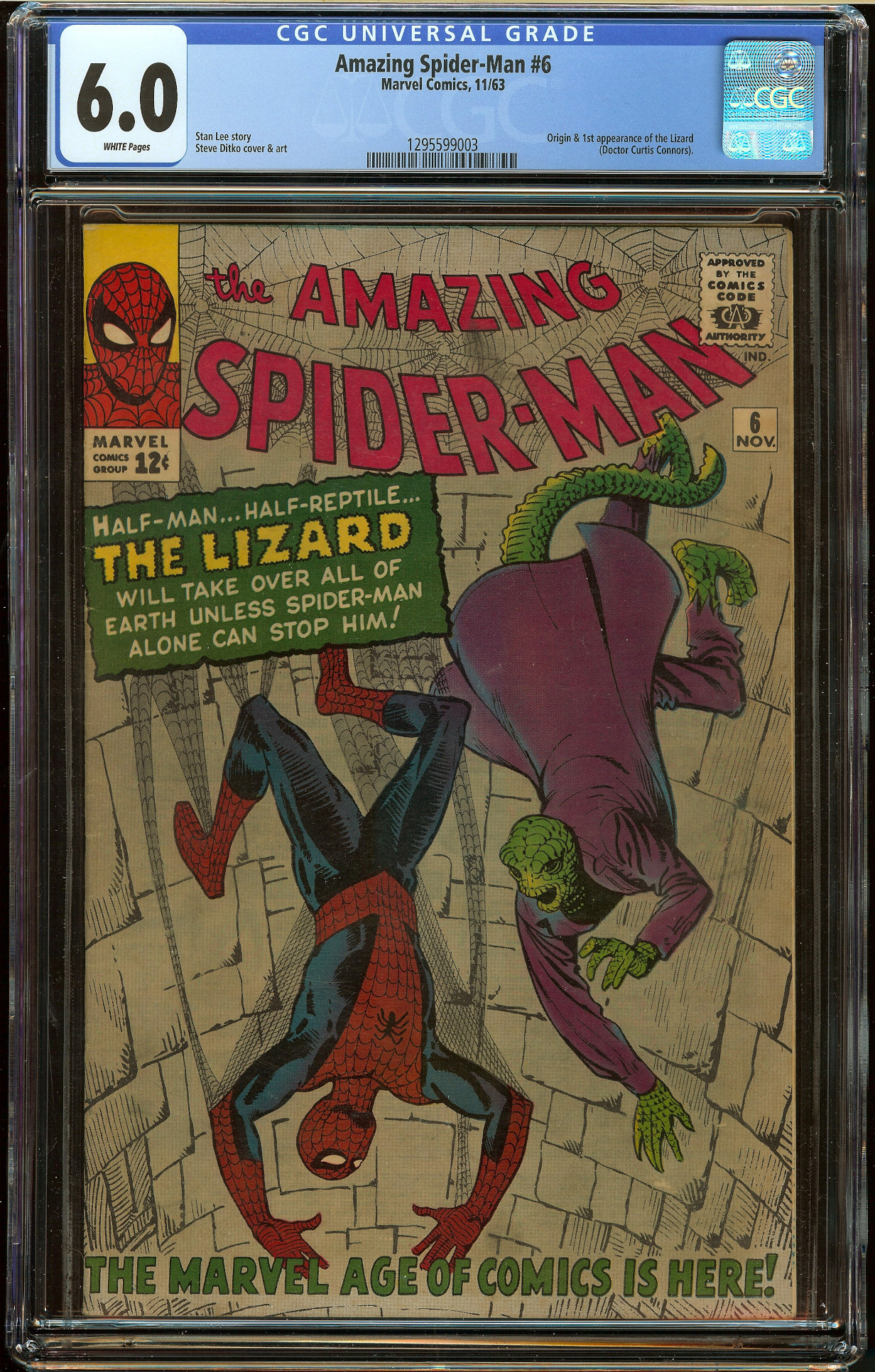 Amazing Spider-Man #6 CGC 6.0