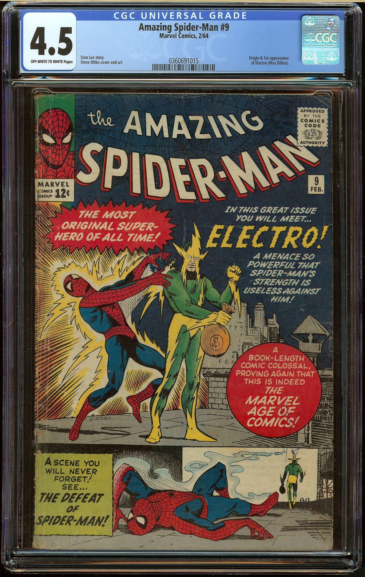 Amazing Spider-Man #9 CGC 4.5