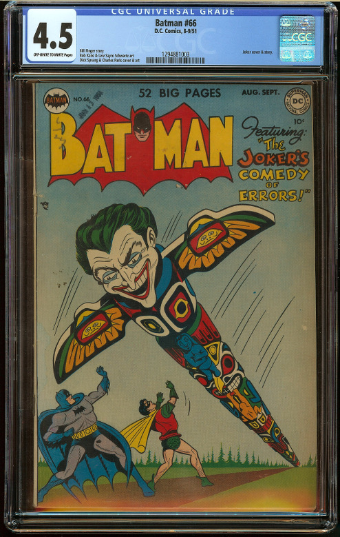 Batman #66 CGC 4.5 - Click Image to Close