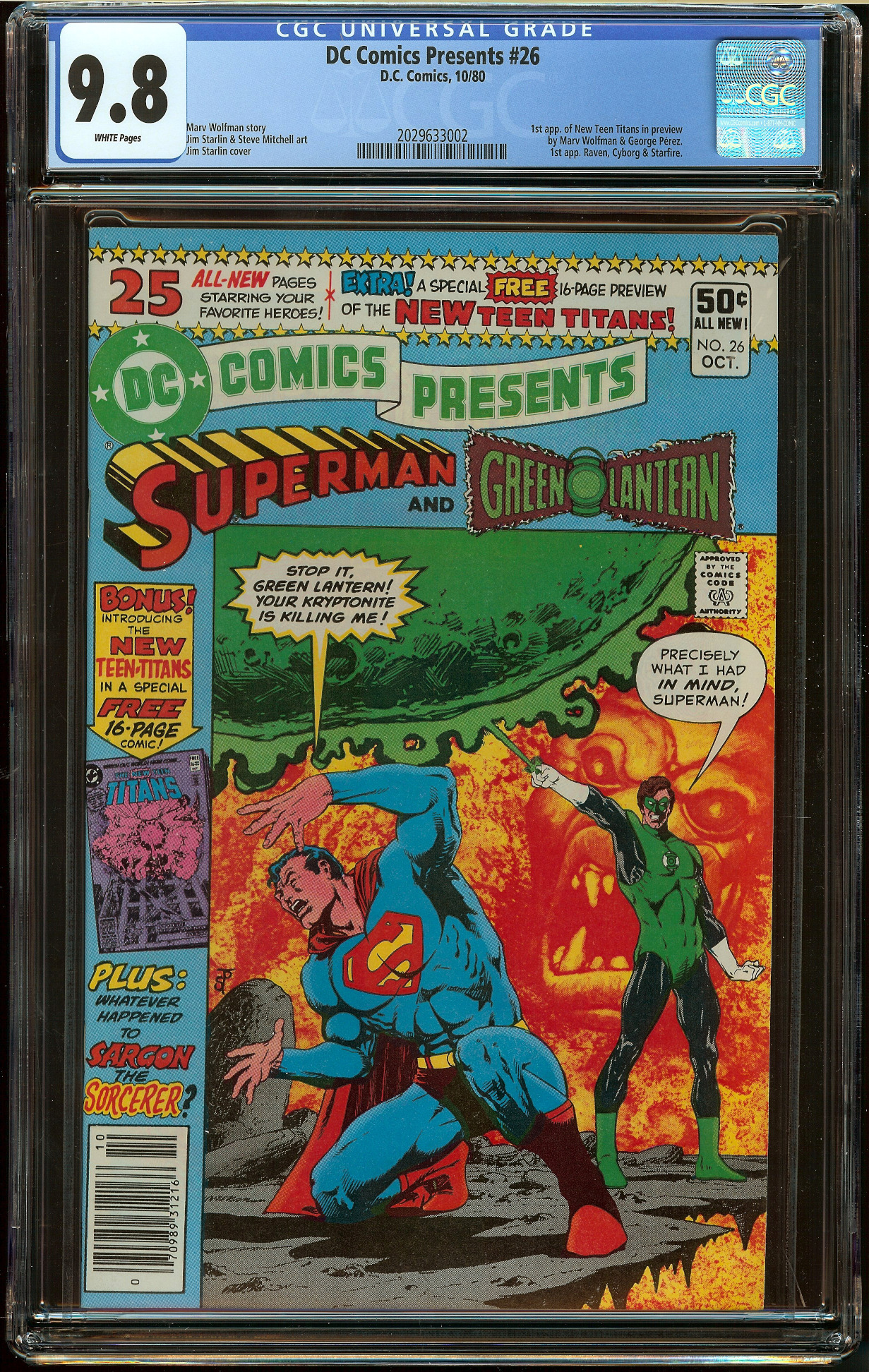 DC Comics Presents #26 CGC 9.8