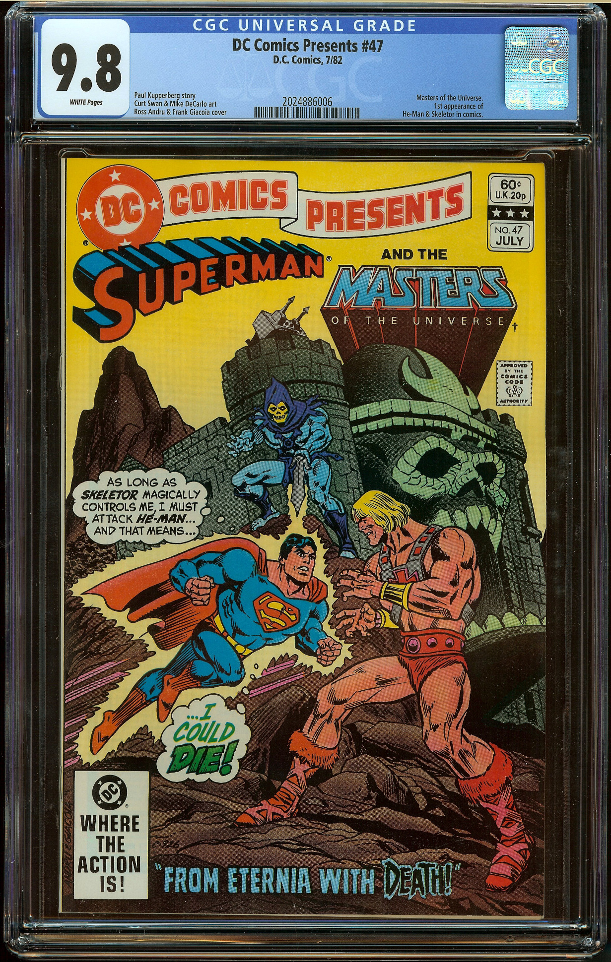 DC Comics Presents #47 CGC 9.8