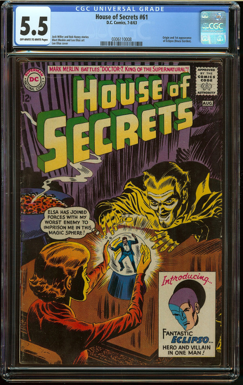 House of Secrets #61 CGC 5.5