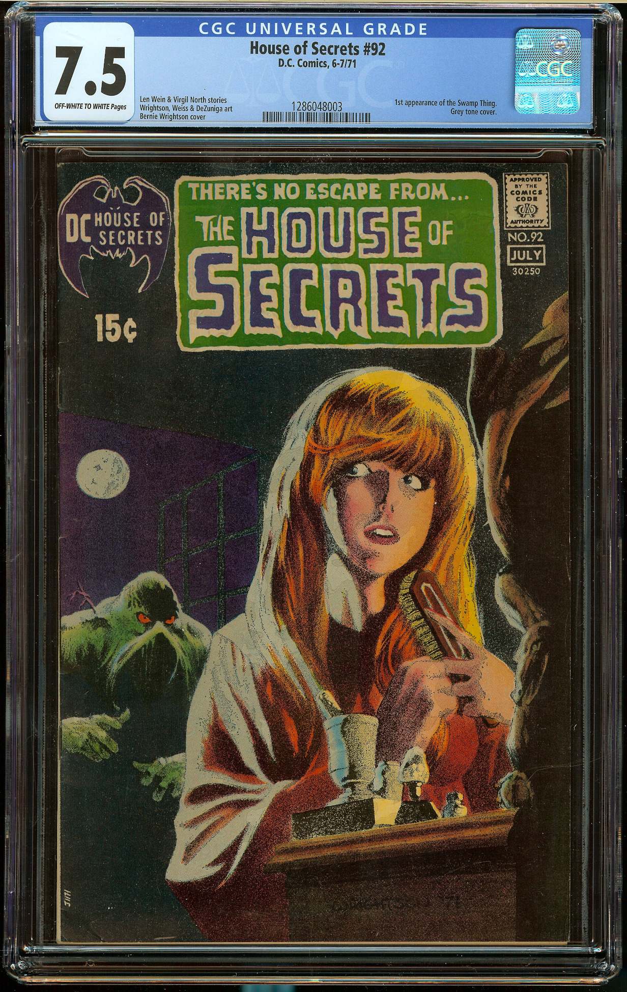 House of Secrets #92 CGC 7.5