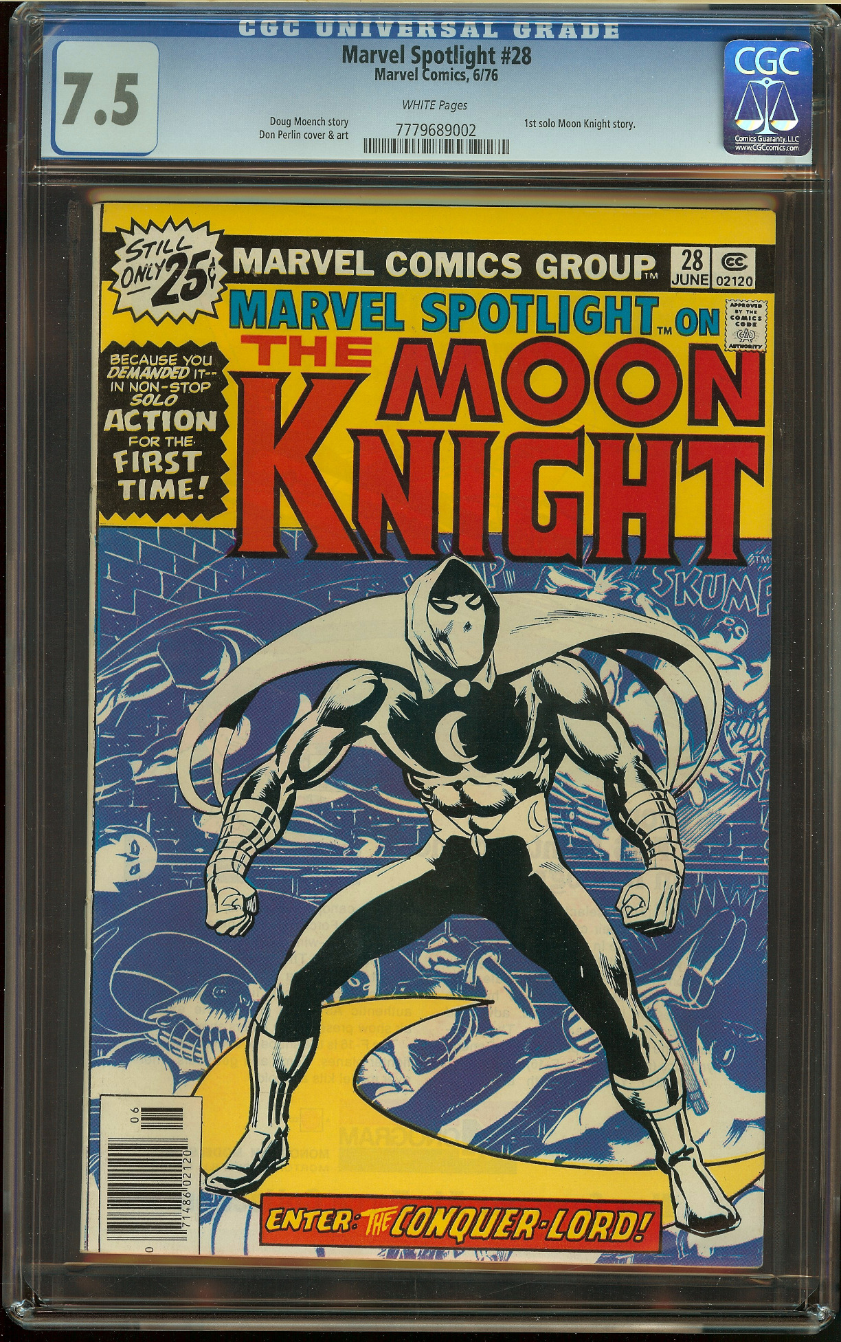 Marvel Spotlight #28 CGC 7.5
