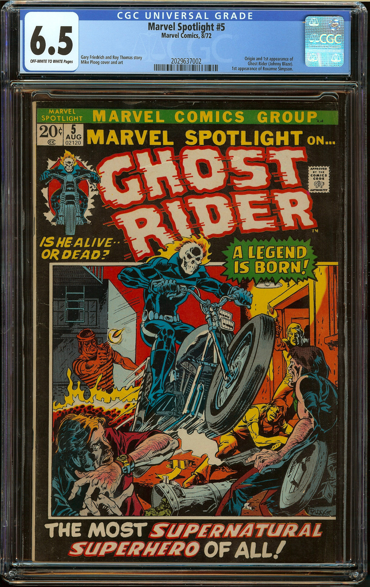 Marvel Spotlight #5 CGC 6.5