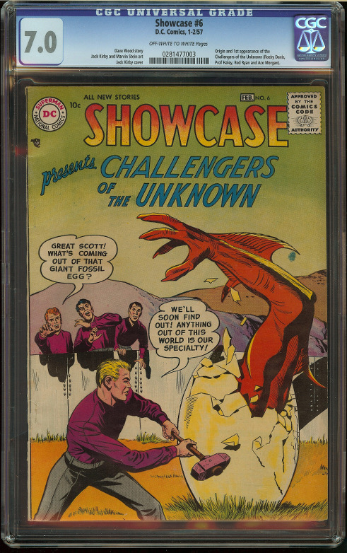 Showcase #6 CGC 7.0 - Click Image to Close