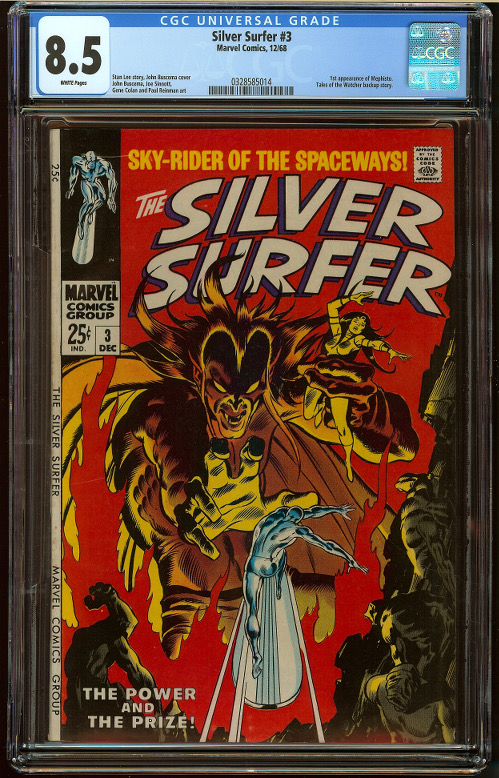Silver Surfer #3 CGC 8.5 - Click Image to Close