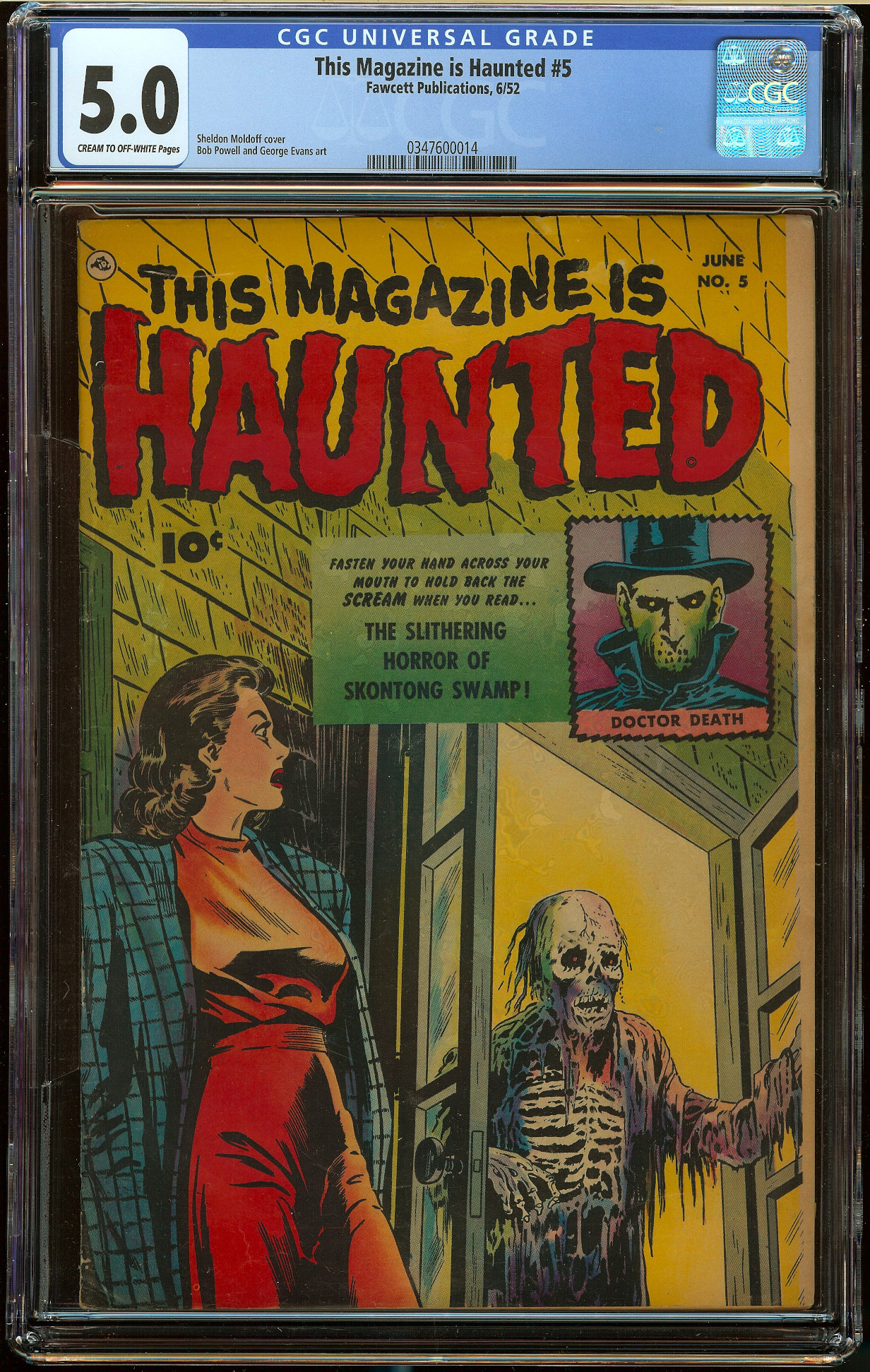 This Magazine is Haunted #5 CGC 5.0