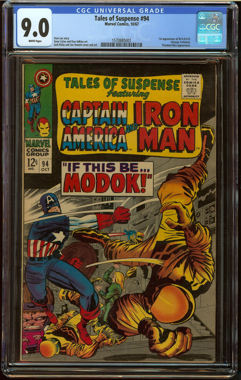 Tales of Suspense #94 CGC 9.0