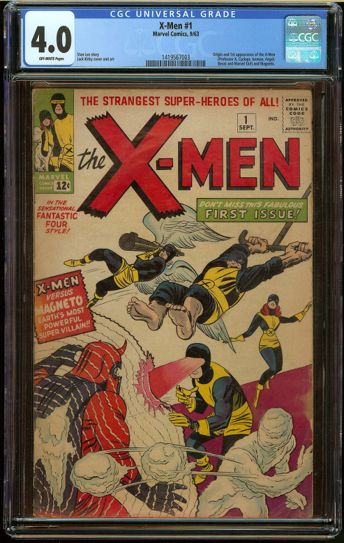 X-Men #1 CGC 4.0 - Click Image to Close